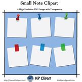 Freebie Supplies: Small Note Clipart