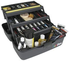 "ArtBin Essentials Tray Tote 3-15""""X8""""X8.5"""" Black"