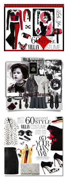 """""""Winners for 60-Second Style: Villain Costume"""" by polyvore ❤ liked on Polyvore featuring Masquerade, Funtasma, Halloween, 60secondstyle, villaincostume, BAILEY, Vero Moda, Pamela Love, Zara and Yves Saint Laurent"""
