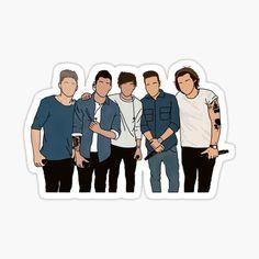Tienda de mutualletters | Redbubble One Direction Drawings, One Direction Art, Bff Drawings, One Direction Pictures, Easy Drawings, Imprimibles One Direction, Desenhos One Direction, One Direction Lockscreen, Harry 1d