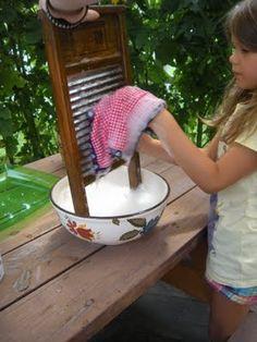 Washing cloth napkins