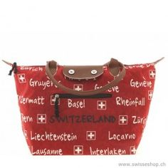 Stoff-Tasche faltbar, rot / Material pocket folding, red Creative and high-quality pockets for women. Pleasantly portable and ideal size. Lausanne, Pockets, Creative, Red, Women, Souvenir, Locarno, Presents, Women's