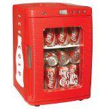 A little caffeine goes a long way....Koolatron KWC-25 Coca-Cola 28-Can-Capacity Portable Fridge with LED Display