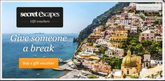 Product Recommendation Web Banners for Secret Escapes #Web #Banner #Digital #Online #Marketing #Travel #Product #Recommendation #Holidays