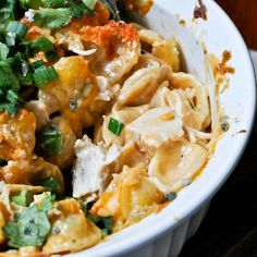 Baked Buffalo Chicken Pasta Recipe - Key Ingredient