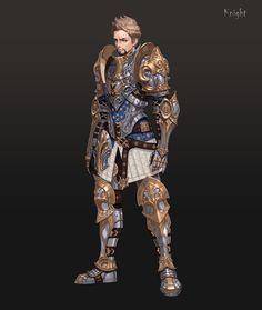 ArtStation - RPG_Character_Knight, jeong seong hun
