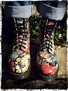 Doc Martens - Ahh! A part of me just wants to Clarissa Explains it all up in these.
