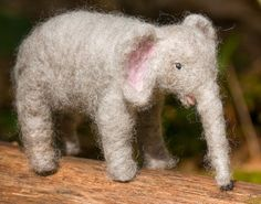#elephant #needle felting #wool