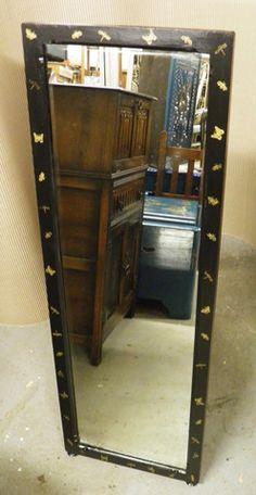 Upcycled Mahogany Cheval Mirror : IPPLEPEN INTERIORS – Ipplepen Interiors
