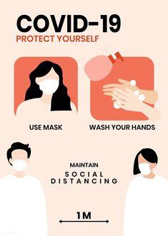 Protect yourelf from White Face Mask, Face Mask Set, Free Planet, Building Illustration, Medical Illustration, Pin On, Advertising Poster, Free Illustrations, Grafik Design