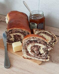 Foszlós kakaós kalácsom, ahogy a Nagymamám sütötte! - Egyszerű Gyors Receptek Hungarian Recipes, Pound Cake, Nutella, Tiramisu, Bakery, Food And Drink, Fudge, Sweets, Cheese