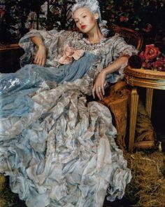 "@q.t.s.g op Instagram: ""Christian Lacroix Haute Couture F/W 2006, Mona Johanessen by Juan Gatti for Vogue Spain October 2006 #flowers #garden #fairytail #fairytale #photo #photographer #art #photoart #abandoned #photoshoot #abandonedplaces #decadence #decay #vogue #vogueitalia #couture #highfashion #haunted #fashionphotography #hautecouture #inspiration #marieantoinette #baroque #beauty #abandonedbuilding #vintage #hauntedhouse #haunted"""