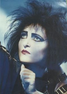 Siouxsie: had this image as a poster in my bedroom in high school, #goth, #indie, #music