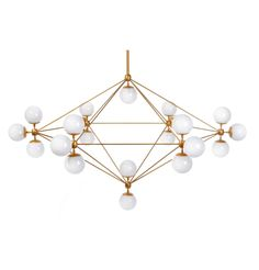 Modernist Golden Globe 21 Lamp - Chandeliers ModernistLighting.com