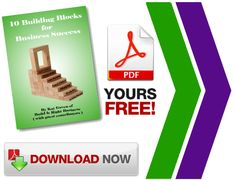 Download the FREE 10 building blocks of a successful business ebook