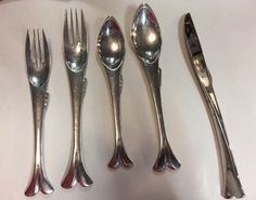 Includes six each of the dinner knife, dinner fork, salad fork, teaspoon and soup spoon. Yamazaki is one of the premier manufacturers of stainless steel flatware and cookware in the world. Located in the heart of Japan's steel producing area, Yamazaki has produced fine products for discerning consumers for over 80 years. | eBay!