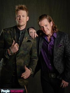 Brian Kelly & Tyler Hubbard of Florida Georgia Line were the hosts of the American Country Countdown Awards #accawards 2014
