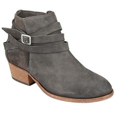 Buy H by Hudson Horrigan Block Heeled Ankle Boots, Smoke, 4 Online at johnlewis.com