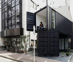 Shipping Container Office 1