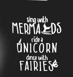 mermaid shirt, unicorn shirt, mermaids and unicorns shirt, statement shirts…