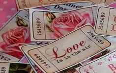 Valentines tickets