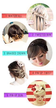 5 hair tutorials for long hair