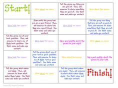 Social Skills game to play to get kids talking about good qualities, friendship and feelings Repinned by SOS Inc. Resources. Follow all our boards at http://pinterest.com/sostherapy for therapy resources.
