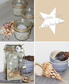 Maritime DIY Projects (Home Decoration or / and Giveaways for guests)    http://kukuwaja.blogspot.de/2012/07/maritime-party-grosses-juli-candy.html