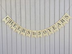 Customize this banner for any birthday or anniversary milestone; 16th, 21st, 40th, 50th or any birthday / anniversary along the way. Choose single