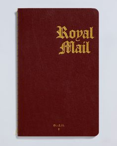 The Royal Mail Xmas Bible by Magpie Studio.