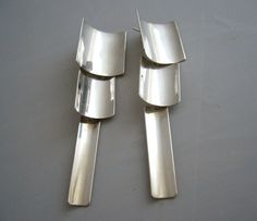 1980's Mexican Modernist Jointed Sterling by 20thObsession on Etsy