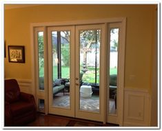 French Patio Doors With Doggie Door