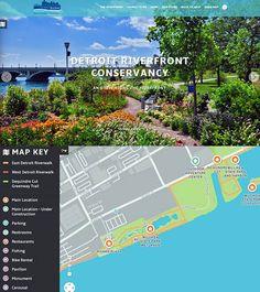 Detroit Riverfront Conservancy website