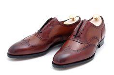 Brown Wingtip Shoes