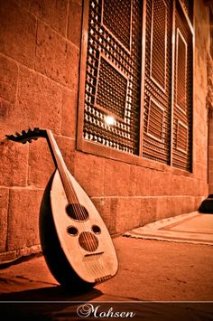 Arabic instrument .. Oud