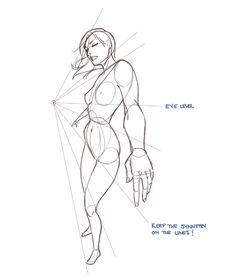 Female drawing tutorial