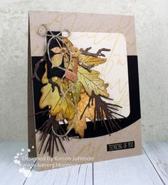 KarrenJ - Stamping Stuff: Bouquet of Leaves