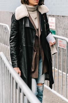 How to layer like a New York girl