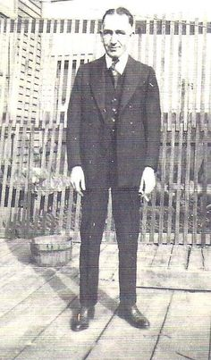 The only photo of Harry Floyd Mathie that I have ever seen. He is the youngest brother of my great-grandfather, Clarence Delos Mathie. Someone related to Harry's wife posted this picture on Ancestry.com. It was an amazing find.