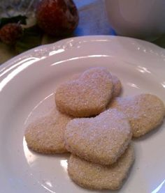 Heart-Shaped Mexican Wedding Cookies