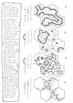 Time to start taking some of this theory to a more practical level. These are just a few starting ideas for geomorph application...ther...