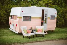 This time, I'm doing Part 1of my DIY Vintage Camper Makeover series. Let me show you How to Paint a Vintage Camper with style. Enjoy!