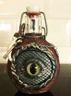 This would be so cool on our ren faire bottles.