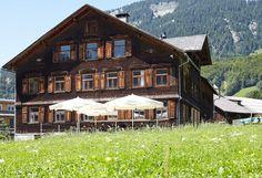 Bergbrennerei Löwen Au | Convention Partner Vorarlberg Gala Dinner, Villa, Cabin, House Styles, Home Decor, Decoration Home, Room Decor, Cabins, Cottage