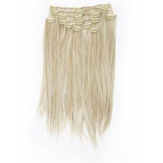 Synteettiset Klipsipidennykset 18' -Warm Natural Blond | Cybershop