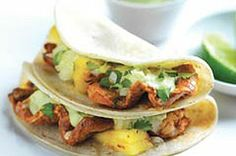 Grilled al Pastor-Style Tacos recipe