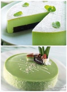 One of my favourites: Green Tea Cake