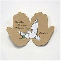 The FreeKidsCraft Team wishes you the best of the season with this Peace On Earth Handprint Poem. Make lots of them and spread the good will around. Easter Crafts, Holiday Crafts, Crafts For Kids, Christmas Poems, Kids Christmas, Peace Crafts, Handprint Poem, Dove And Olive, Easter Prayers