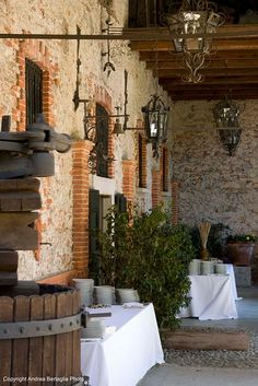 gorgeous hotel in Italy // Abbazia di Santo Spirito - Comignago (No)
