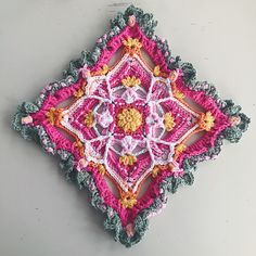 "The Butterfly Effect CAL 2019 Part 1 ""From deep within the soul and somewhere in the heart, there was the finest of rumbles and a million tiny sparks. Crochet Chart, Crochet Patterns, Toffee Popcorn, Butterfly Effect, V Stitch, Yarn Stash, Magic Circle, Stitch Markers, Overlays"